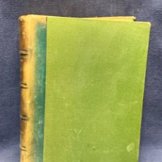 Libros antiguos: LIBRO MANUAL MEDICINA INTERNA TOMO I MADRID LIBRERIA GUTENBERG HERNANDO MARAÑON 1916 25X18CMS. Lote 276624068