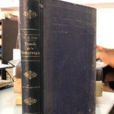 Libros antiguos: TRATADO DE BLENORRAGIA - DR G. LUYS 1912. Lote 277603418