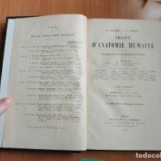Libros antiguos: TRAITE D' ANATOMIE HUMAINE (TOME PREMIER - DEUXEME FASCICULE) - POIRIER Y CHARPY - 1926. Lote 277649703