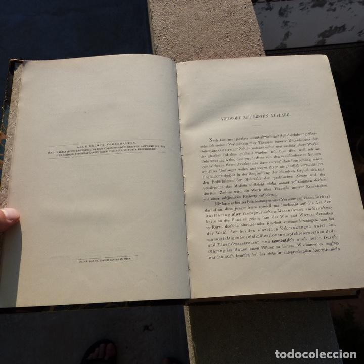 Libros antiguos: Norbert Ortner, vorlesungen, therapie innerer krankheiten, 1902 - Foto 7 - 277831878