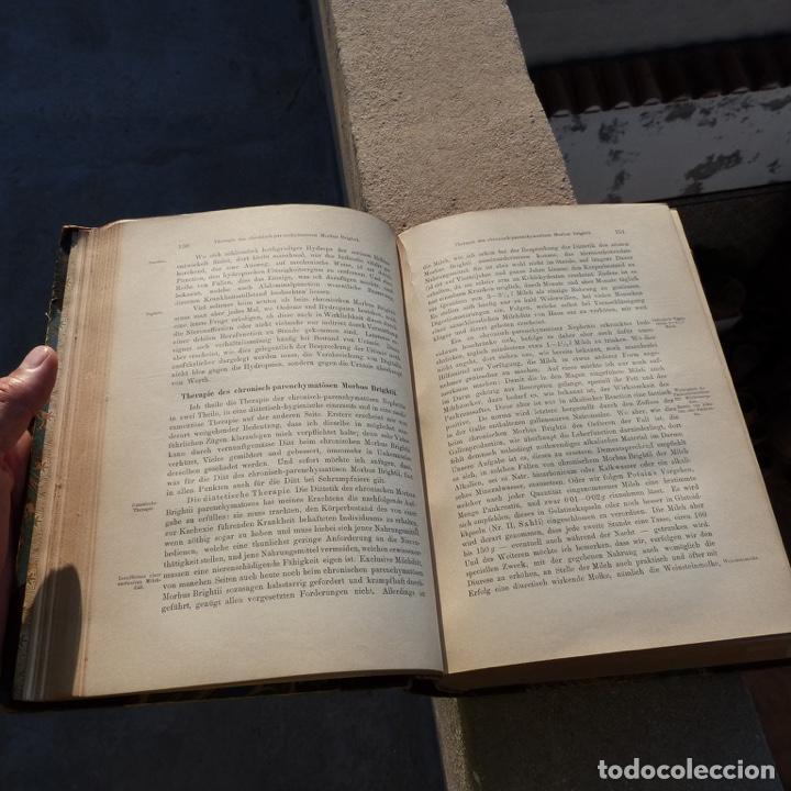 Libros antiguos: Norbert Ortner, vorlesungen, therapie innerer krankheiten, 1902 - Foto 8 - 277831878