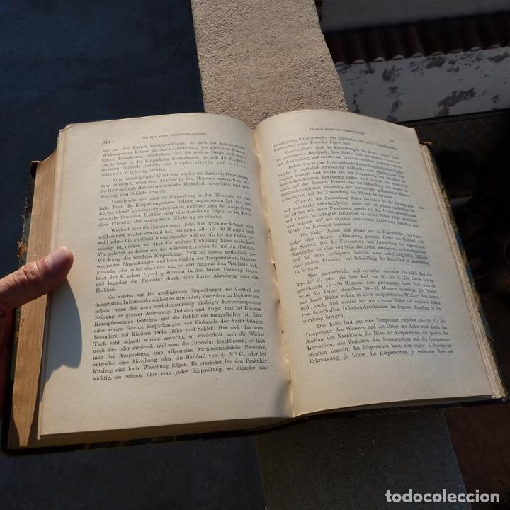Libros antiguos: Norbert Ortner, vorlesungen, therapie innerer krankheiten, 1902 - Foto 12 - 277831878