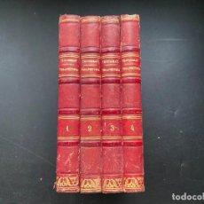 Libros antiguos: TRATADO DE TERAPEUTICA Y MATERIA MEDICA. TROUSSEAU T H. PIDOUX. 4 TOMOS. MADRID, 1863. Lote 278465973