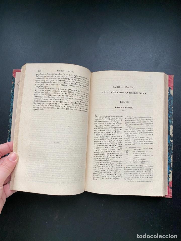 Libros antiguos: TRATADO DE TERAPEUTICA Y MATERIA MEDICA. TROUSSEAU T H. PIDOUX. 4 TOMOS. MADRID, 1863 - Foto 5 - 278465973