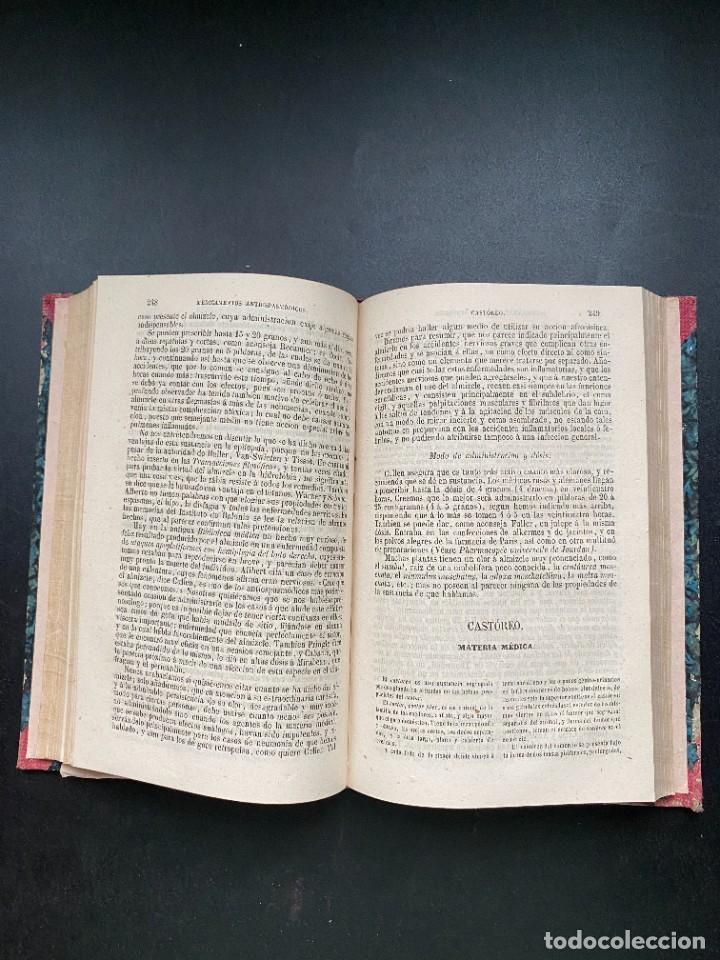 Libros antiguos: TRATADO DE TERAPEUTICA Y MATERIA MEDICA. TROUSSEAU T H. PIDOUX. 4 TOMOS. MADRID, 1863 - Foto 19 - 278465973