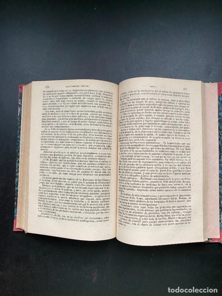 Libros antiguos: TRATADO DE TERAPEUTICA Y MATERIA MEDICA. TROUSSEAU T H. PIDOUX. 4 TOMOS. MADRID, 1863 - Foto 20 - 278465973