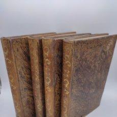 Livros antigos: BIBLIOTECA DE MEDICINA Y CIRUGÍA CLÍNICA MÉDICA OBSERVACIONES SELECTAS TOMOS 1,3,4,5 AÑO 1841. Lote 282235363