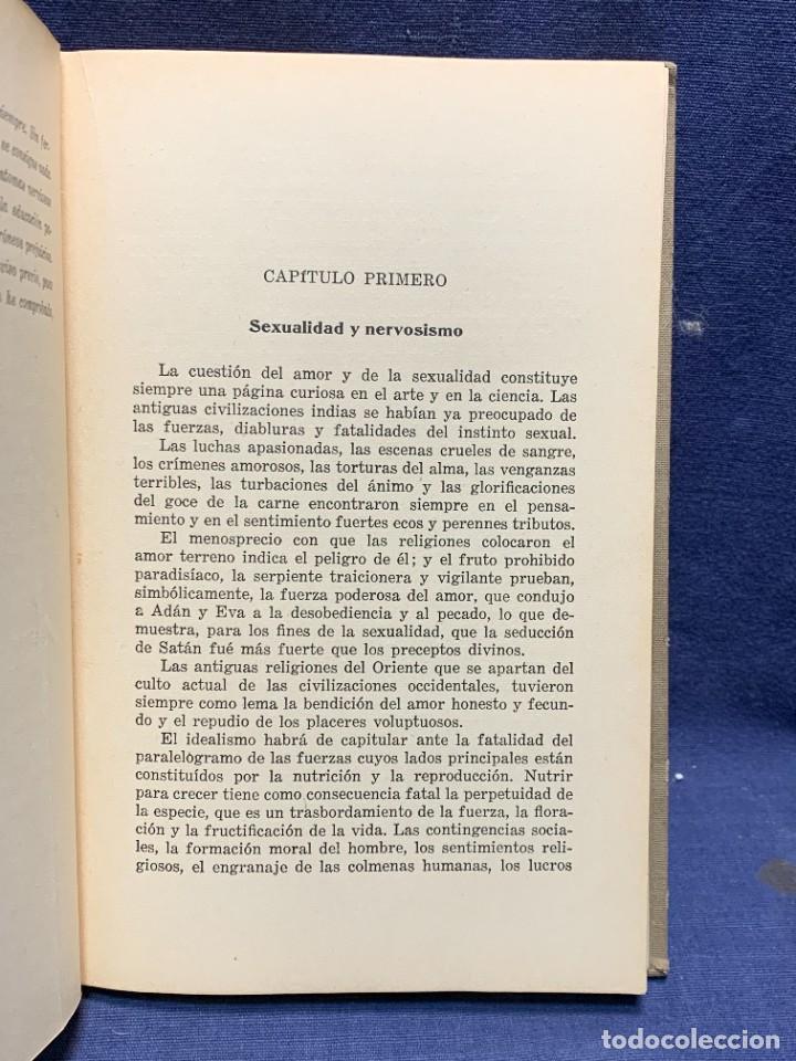 Libros antiguos: LA NEURASTENIA SEXUAL Y SU TRATAMIENTO COLECCION MARAÑON DR A.AUSTREGESILO 1929 22X15CMS - Foto 5 - 283768138