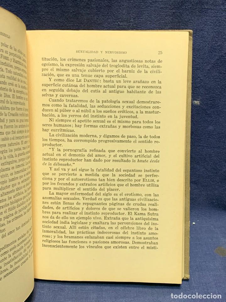 Libros antiguos: LA NEURASTENIA SEXUAL Y SU TRATAMIENTO COLECCION MARAÑON DR A.AUSTREGESILO 1929 22X15CMS - Foto 6 - 283768138