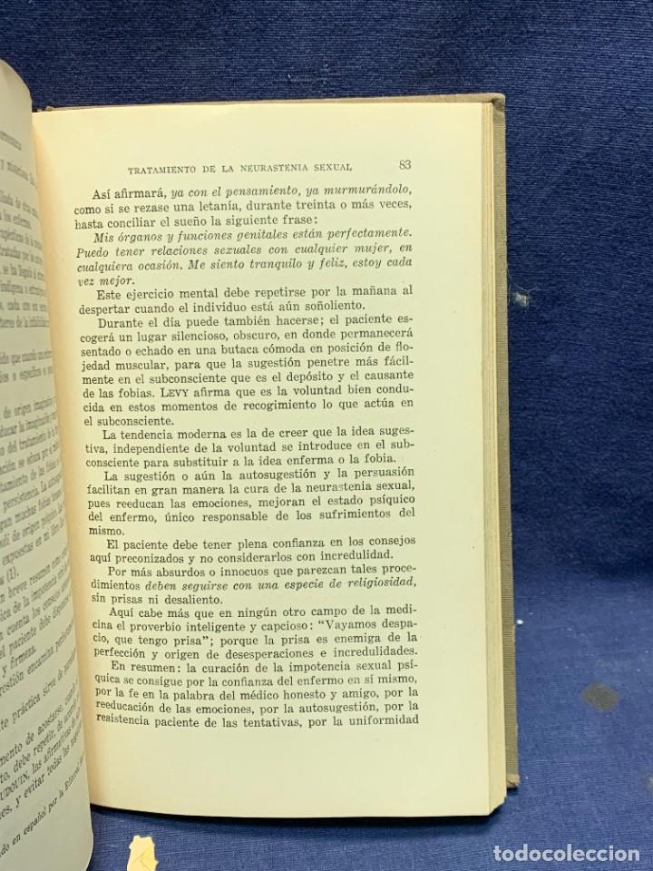 Libros antiguos: LA NEURASTENIA SEXUAL Y SU TRATAMIENTO COLECCION MARAÑON DR A.AUSTREGESILO 1929 22X15CMS - Foto 7 - 283768138