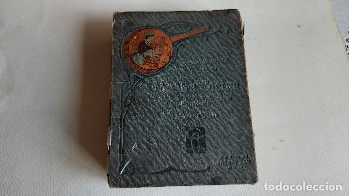 U-191.- LIBRO-- NUESTRA COCINA REPERTORIO DE BUENA MESA, GASTON DORVAL ,- CABAUT Y CIA, VER FOTOS . (Libros Antiguos, Raros y Curiosos - Ciencias, Manuales y Oficios - Medicina, Farmacia y Salud)
