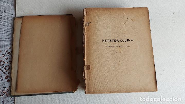 Libros antiguos: U-191.- LIBRO-- NUESTRA COCINA REPERTORIO DE BUENA MESA, GASTON DORVAL ,- CABAUT Y CIA, VER FOTOS . - Foto 2 - 287664008