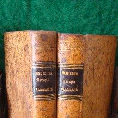 Libros antiguos: MEDICINA PRACTICA. HUFELAND. SANCHEZ DE BUSTAMANTE.1842. DOS TOMOS EN PIEL. Lote 287854583