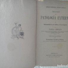 Libros antiguos: RECLUS- KIRMISON- PEYROT- BOUILLY ,,,TRATADO DE PATOLOGIA EXTERNA 1885. Lote 288511498