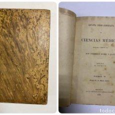Libros antiguos: REVISTA IBERO-AMERICANA DE CIENCIAS MÉDICAS. FEDERICO RUBIO. TOMO V. Nº IX Y X. MADRID, 1901. Lote 288863138