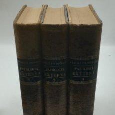 Libros antiguos: TRATADO DE PATOLOGÍA EXTERNA. BOULET Y BOUSQUET. 3 TOMOS. ESPASA EDITORES. 1889. VER FOTOS. Lote 288899423