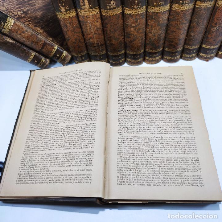Libros antiguos: Diccionario enciclopédico de Medicina y cirugía prácticas. Dr. A. Enlenburg. Dr. D. Isidoro de Migue - Foto 11 - 290959433