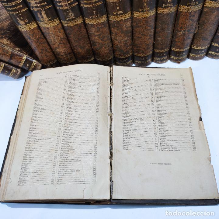 Libros antiguos: Diccionario enciclopédico de Medicina y cirugía prácticas. Dr. A. Enlenburg. Dr. D. Isidoro de Migue - Foto 14 - 290959433