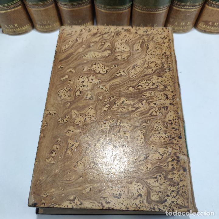 Libros antiguos: Tratado de medicina y terapéutica. P. Brouardel. D. José Núñez Granés. 10 tomos. Madrid. 1901. - Foto 13 - 290962338