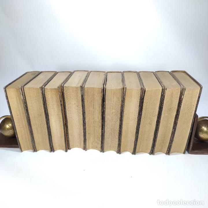 Libros antiguos: Tratado de medicina y terapéutica. P. Brouardel. D. José Núñez Granés. 10 tomos. Madrid. 1901. - Foto 14 - 290962338