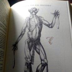 Libros antiguos: FASCIMIL. HISTORIA DE LA COMPOSICIÓN DEL CUERPO HUMANO. JUAN VALVERDE. UNIVERSIDAD DE VALENCIA. Lote 293989528