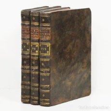 Libros antiguos: RANCÉ (JUAN).- TRATADO THEORICO-PRÁCTICO DE LA MATERIA MEDICA. 1773. PREPARACIONES QUÍMICAS.... Lote 295632248