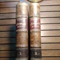 Libros antiguos: NUEVOS ELEMENTOS DE FARMACIA PRÁCTICA 1892 A.ANDOUARD FRANCISCO ANGULO Y SUERO 2 TOMOS. Lote 295881793