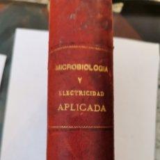 Libros antiguos: MICROBIOLOGIA O LOS INFINITAMENTE PEQUEÑOS 1890 TYNDALL, MACÉ PASTEUR. Lote 296746853