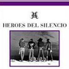 Libros antiguos: HEROES DEL SILENCIO FOTOS `85 - `96 LIBRO PARA COLECCIONISTAS BUNBURY. Lote 27448782