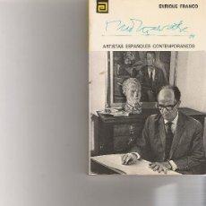 Libros antiguos: MONTSALVATGE - ARTISTAS ESPAÑOLES CONTEMPORANEOS - SERIE MUSICOS - Nº 102. Lote 17012708