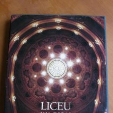 Libros antiguos: LICEU. UN ESPAI PER A L'ART. GRAN VOLUMEN CON CAJA COMO CUBIERTA.. Lote 27085537