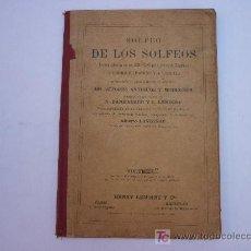 Libros antiguos: SOLFEO DE LOS SOLFEOS - VOLUMEN 1 A - ENRIQUE LEMOINE - 1910 - ENCUADENADO.. Lote 26753566