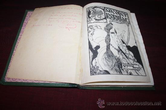 Libros antiguos: 0829- ESPECTACULAR ' CANÇONER POPULAR' , AURELI CAPMANY, AÑO 1903 - Foto 2 - 27623366