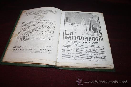 Libros antiguos: 0829- ESPECTACULAR ' CANÇONER POPULAR' , AURELI CAPMANY, AÑO 1903 - Foto 3 - 27623366