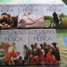 Libros antiguos: ENCICLOPEDIA 5 TOMOS LOS DIOSES DE LA MUSICA - PLANETA EN , COMO NUEVA. Lote 28239168