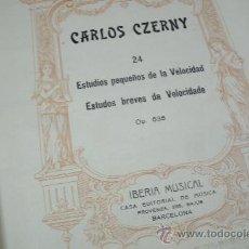 Libros antiguos: METODO DE PIANO CARLOS CZERNY / LIBRO QUE PERTENECIO A LA BIBLIOTECA PRIVADA DE MIGUEL DE UNAMUNO. Lote 29649806