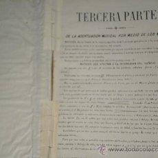 Libros antiguos: LIBRO DE EJERCICIOS DE MUSICA - TERCERA PARTE - AÑO 1930 (VER FOTOGRAFIAS ADICIONALES). Lote 30140020