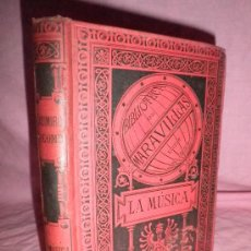 Libros antiguos: LA MUSICA - CASIMIRO COLOMB - AÑO 1885 - BELLOS GRABADOS.. Lote 31136314