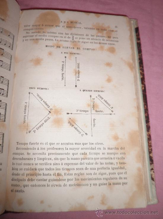 Libros antiguos: ABC MUSICAL - SOLFEO - A.PANSERON - AÑO 1861 - MUY ILUSTRADO. - Foto 3 - 32398695