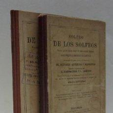 SOLFEO DE LOS SOLFEOS - 2 TOMOS