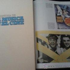 Libros antiguos: HISTORIA DE LA MUSICA EN EL CINE 2 VOLUMENES BELTER EXTRAORDINARIO LOTE MUCHAS FOTOS COLECCIONISTA. Lote 33729905