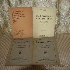 Libros antiguos: 2618- LOTE DE 4 LIBROS DE MUSICA PARA PIANO. TEXTO EN FRANCES. 1897/1911. . Lote 36009158