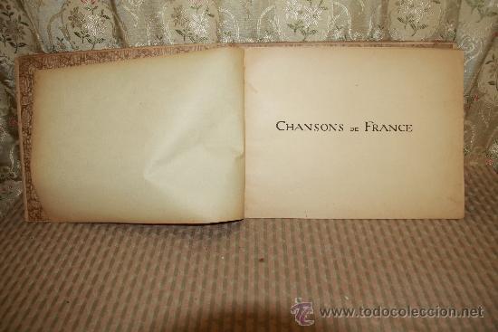 Libros antiguos: 2758- CHANSONS DE FRANCE. CHARLES DE SIVRI. EDIT. QUINZARD. 1898. - Foto 2 - 36286876