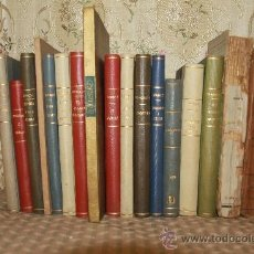 Libros antiguos: 2762- FANTASTICA COLECCION DE 17 LIBROS DE OBRAS MUSICALES. DIF. AUTORES VER DESCRIPCION. . Lote 36327867
