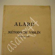 Libros antiguos: MÉTODO DE VIOLÍN SEGUNDO AÑO. Lote 30262091