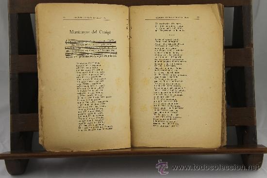 Libros antiguos: 3558- CANÇONS POPULARS DE CATALUNYA. VV.AA. EDIT. SALVADOR BONAVIA. 1923. - Foto 2 - 38365744
