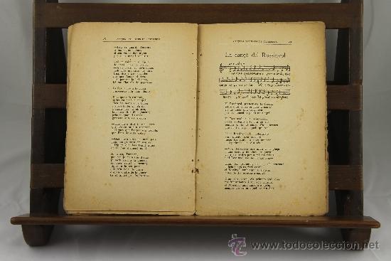 Libros antiguos: 3558- CANÇONS POPULARS DE CATALUNYA. VV.AA. EDIT. SALVADOR BONAVIA. 1923. - Foto 3 - 38365744