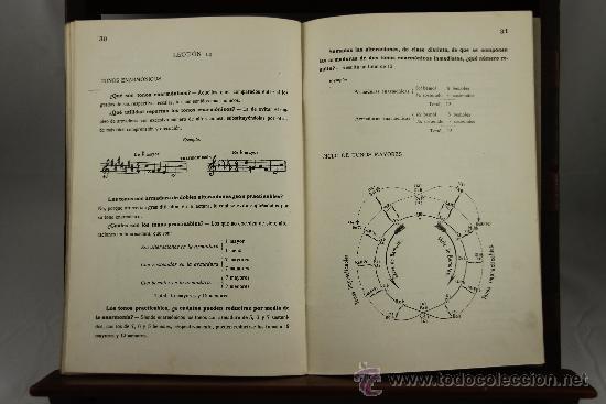 Libros antiguos: 3639- LOTE DE 6 LIBROS DE SOLFEO Y MUSICA. CONSERVATORIO DEL LICEO BARCELONES. 1922. VER DESCRIPCION - Foto 6 - 38468926