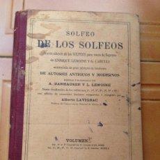 SOLFEO DE LOS SOLFEOS