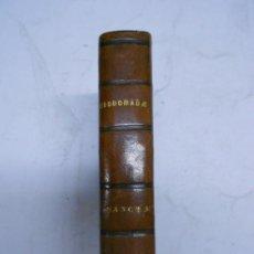 Livros antigos: LIBRO PIEL CON MUSICA OFFICIUM HEBDOMADAE SANCTAE MISAL 1843. PARTITURAS MUSICALES DE CUADRADILLO.. Lote 38903108